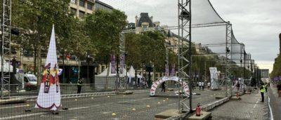 巴黎無人機節 - 香榭麗舍大道 FPV 賽道