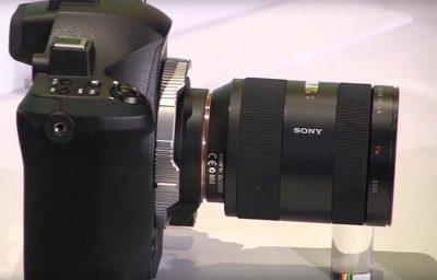 Sony A9 中片幅無反單眼諜照流出