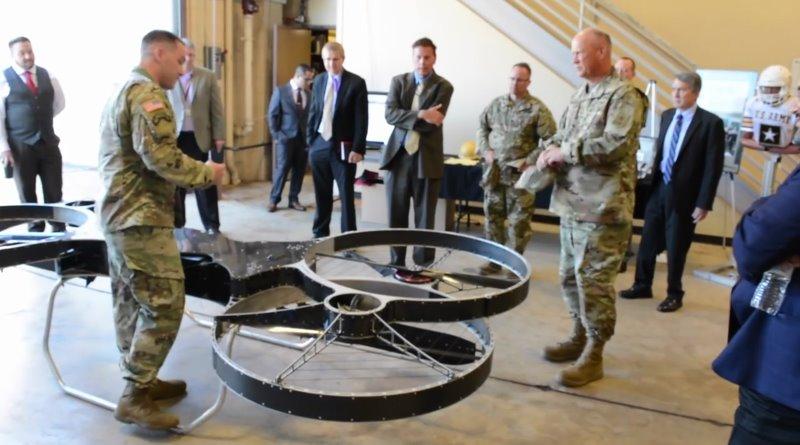 美軍 Hoverbike - Joint Tactical Aerial Resupply Vehicle