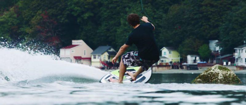 dronesurfing 無人機 滑浪