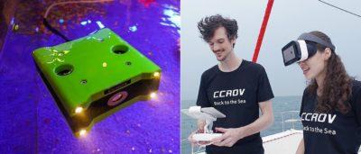 CCROV 讓你以第一人稱視角探索海洋奧秘