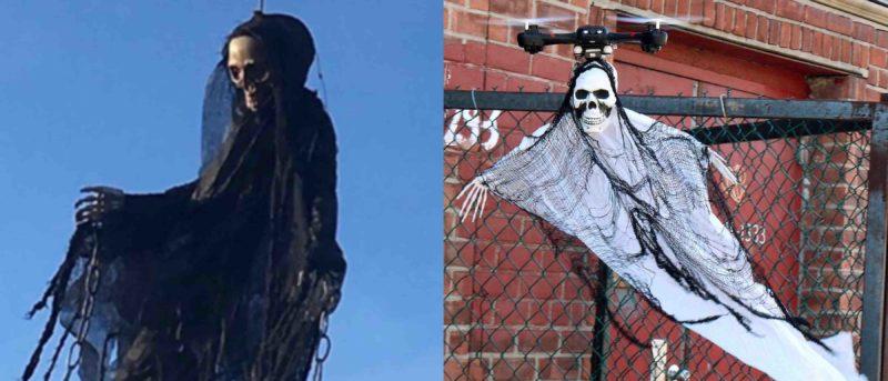 無人機加骷髏骨變 Ghost Drone