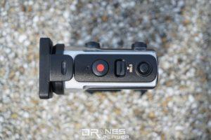 Sony FDR-X3000 主要拍攝按鍵置在機頂。