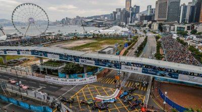 3男子涉 Formula E 賽道上空放飛航拍機被捕
