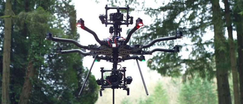 Freefly ALTA 8 八軸無人機雙鏡頭航拍始動