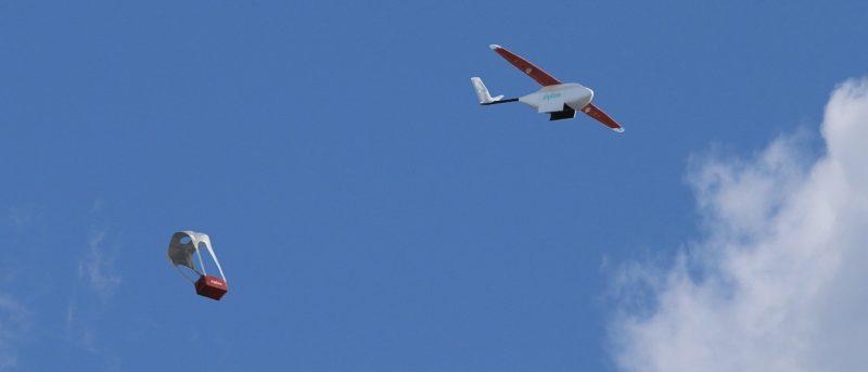 Zipline 定翼機非洲盧安達空投血包救病人