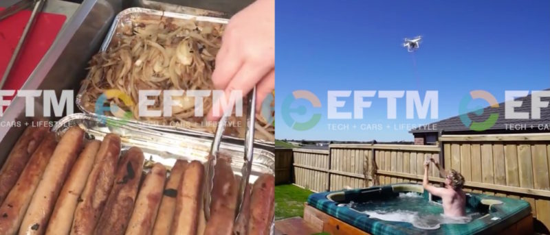 澳洲 熱狗 空拍機 外賣