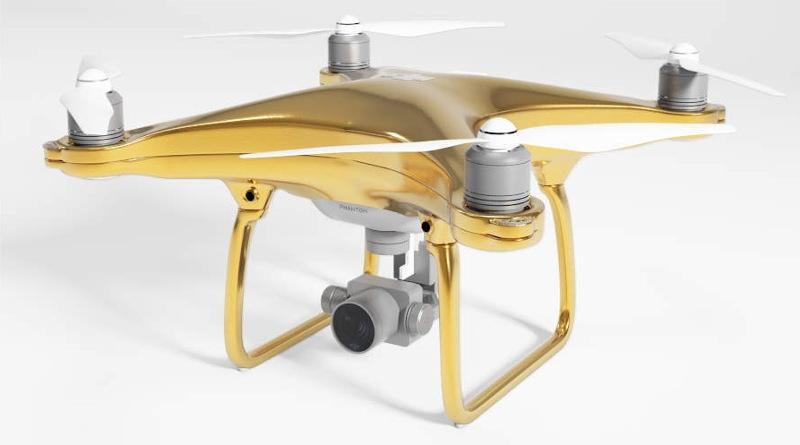 Drones Direct - DJI Phantom 4 Gold Edition