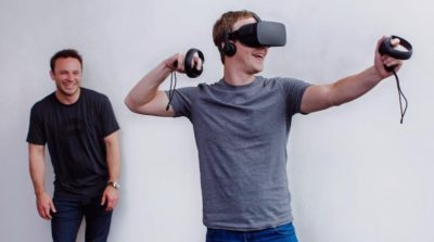 Facebook 十年大計 VR 眼鏡