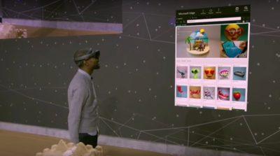 Microsoft VR 眼鏡內建動態追蹤系統