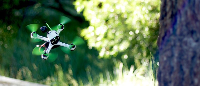 Tanky Drone 穿越機時速百哩狂飆