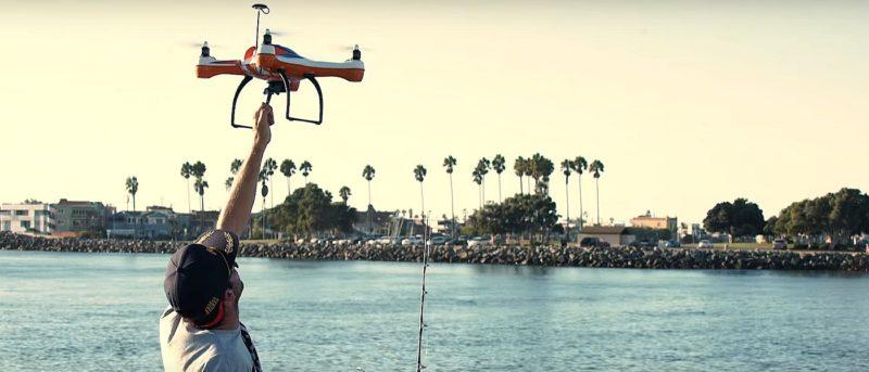 AguaDrone 釣魚無人機登陸 Kickstarter