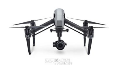 DJI Inspire 2 drone - front