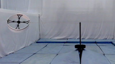 flying ring 四軸無人機 垂直飛行