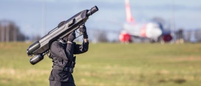 SkyWall100 反無人機巨砲保護奧巴馬