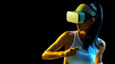 小米VR眼鏡內置獨立運動感測器