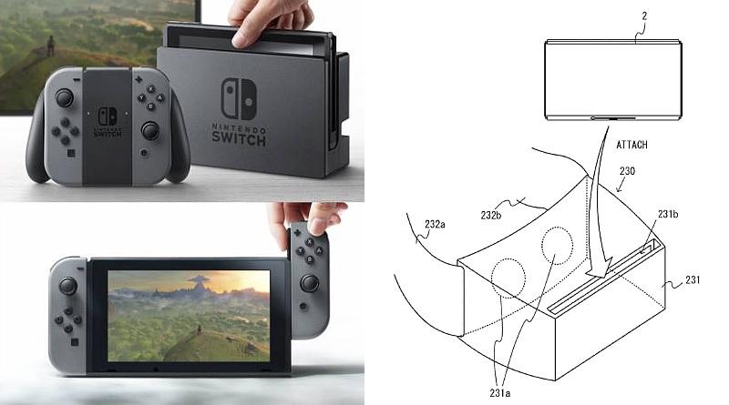 Nintendo Switch 遊戲主機或可變身 VR 頭戴式裝置