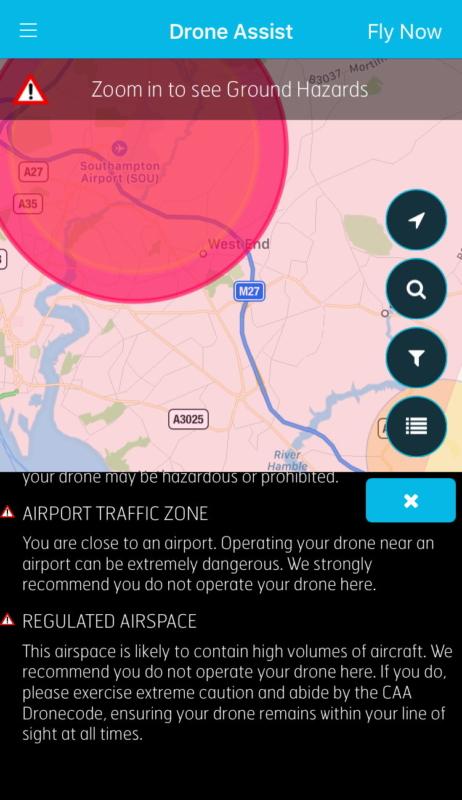 英國《Drone Assist》app - 機場周邊