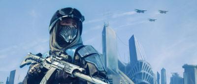 未來電子遊戲風戰爭