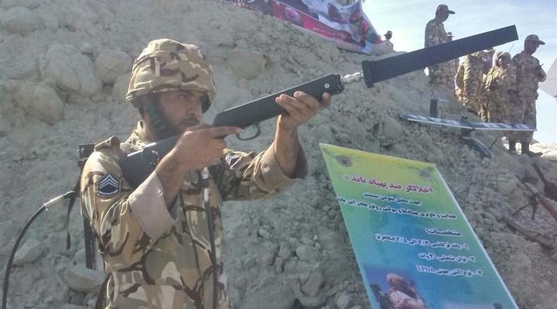 伊朗 反無人機 電磁槍