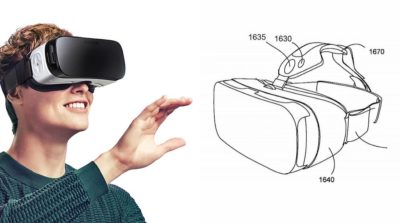 Samsung Gear VR 眼鏡第二代專利設計圖