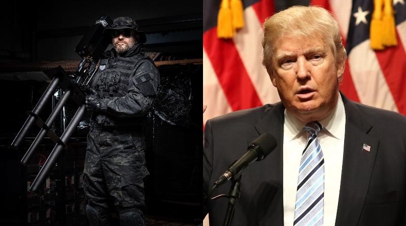 川普 反無人機 裝置 總統 就職禮