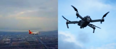DJI Mavic Pro 在杭州蕭山國際機場附近險撞民航機