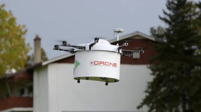 Drone Delivery Canada(公司影片截圖)