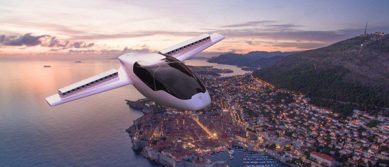 Lilium Jet 垂直升降飛天汽車 獲千萬歐元投資