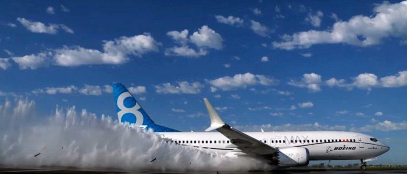 DJI Phantom 4 多角度航拍 Boeing 737 MAX 客機濺水測試