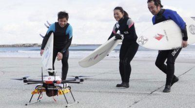 日本福島縣測試無人機自動飛行 12 公里運熱湯