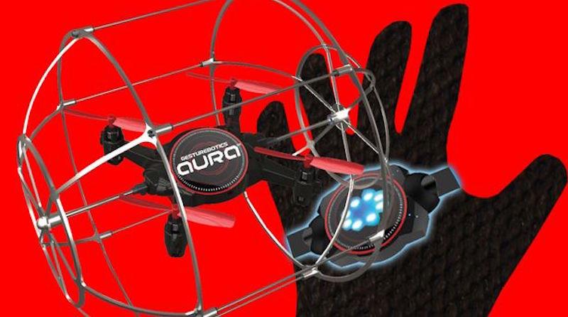 gesturebotics aura drone 無人機 手勢操控