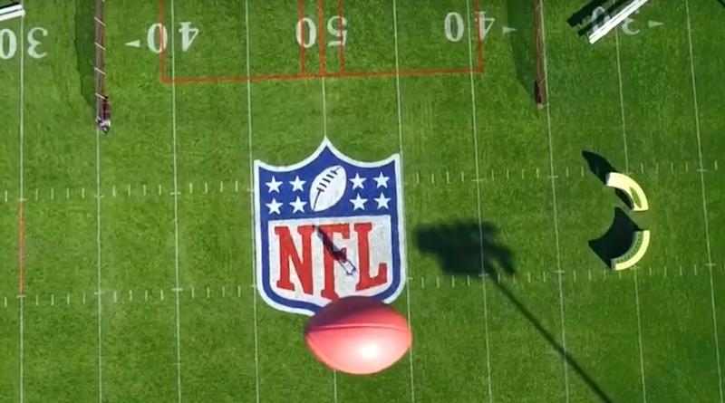 nil 航拍機 投擲 美式足球