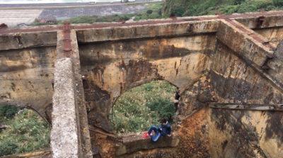 瑞芳水湳洞十三層遺址 中國 遊客 被困