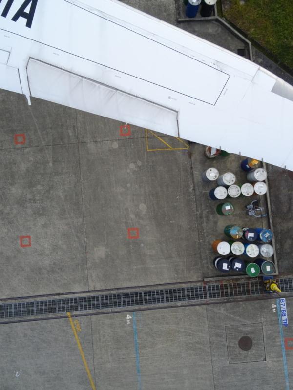 全日空用 AeroSense 無人機勘察波音 787 - 空拍成品(一)