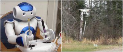 機器人 航拍機 操控 飛行