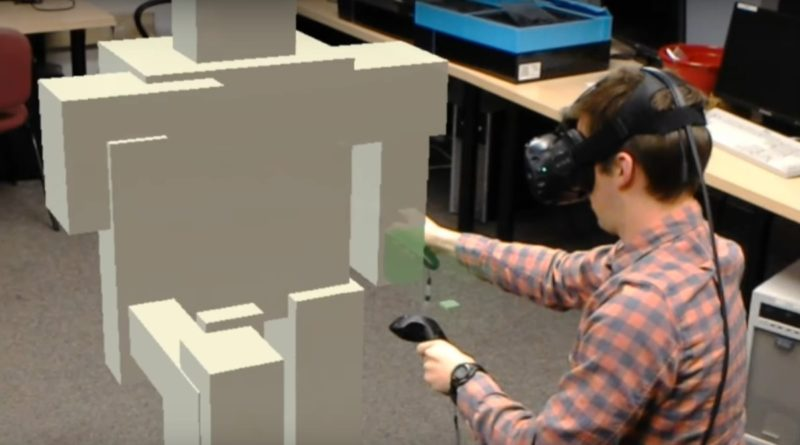 HTC Vive 搭配 HoloLens 虛擬繪圖混合共享