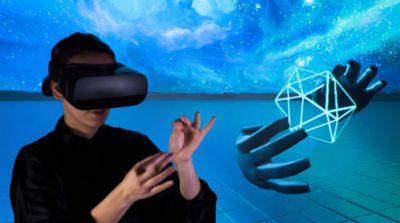Gear VR 支援體感操控!全靠 Leap Motion 手部追蹤技術