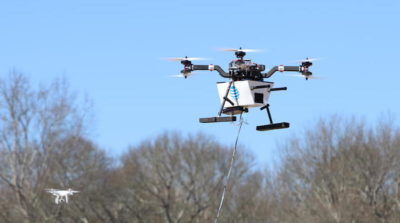 at&t drone 無人機 4G 訊號