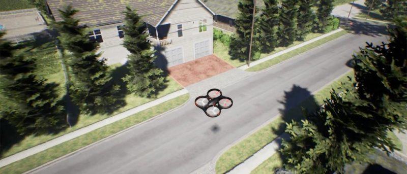 microsoft-drone-simulator 模擬 飛行 無人機