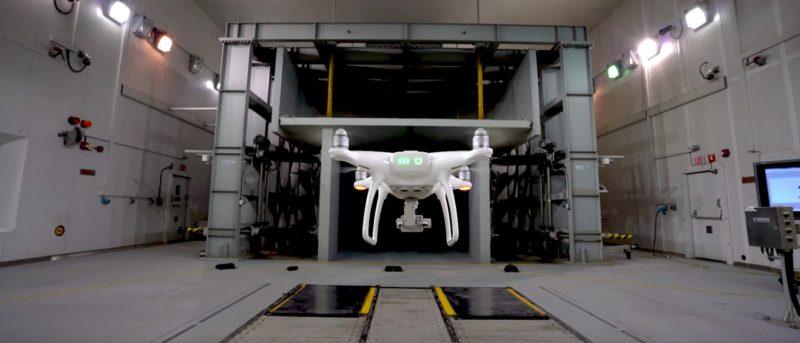 DJI phantom-4-wind-test 風力測試