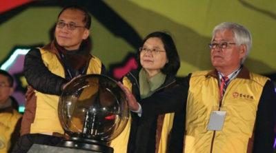 台灣 燈會 蔡英文 總統 空拍機