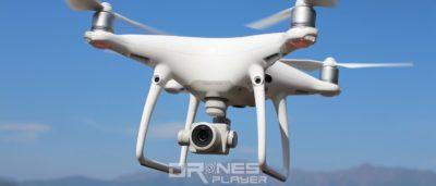 DJI Phantom 4 Pro 飛行中