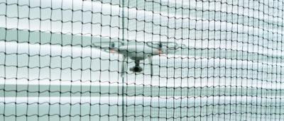 飛行網內的 DJI Phantom 4