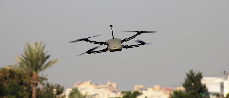 Thor 雷神無人機藉光電+紅外線全方位感知環境