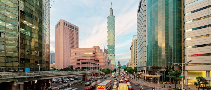 台灣台北街頭