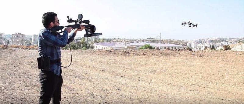 土耳其製電磁槍 Drone Killer