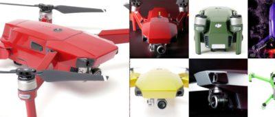 DRONEWRAP 無人機包膜貼紙 為 Mavic Pro 貼上最喜歡的顏色