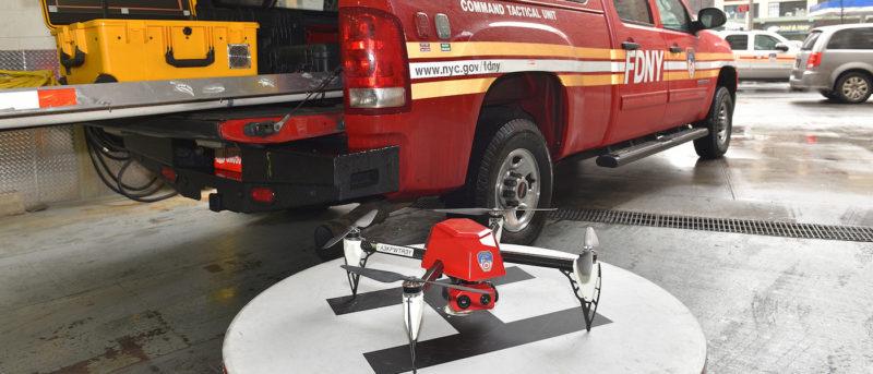 fdny 紐約 消防局 空拍機
