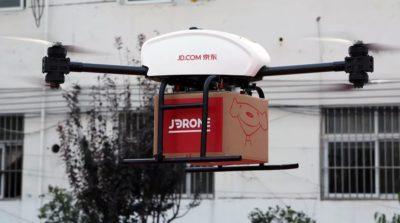 京東設三級智慧物流網路 支援無人機最後一哩貨運